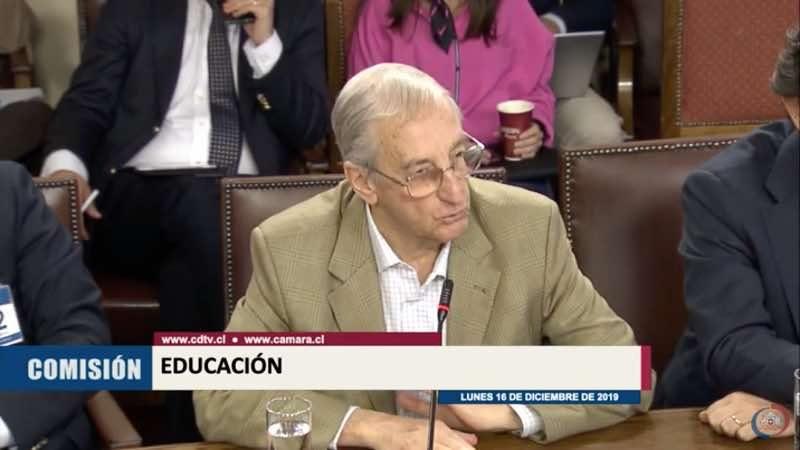 Guido Crino en Comisión de Educación de la Cámara